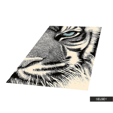 Youth Tiger Kids Rug