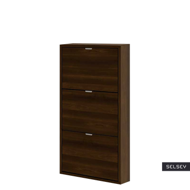 Slim 3 Shelf Shoe Storage Narrow