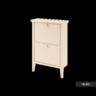 Betty 2 Shelf Shoe Cabinet