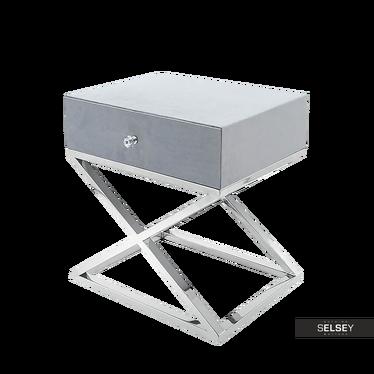 Futura Modern Upholstered Bedside Table