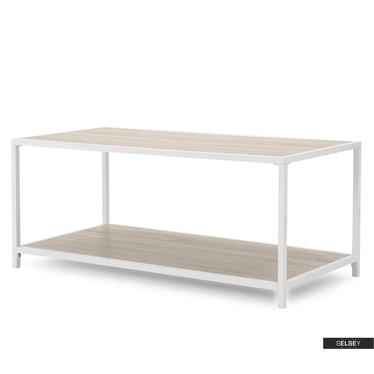 Malek Oak Bench 100x50 cm