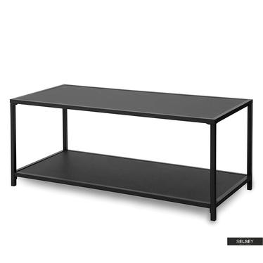 Malek Black Bench 100x50 cm