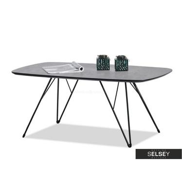 Rubin Retro Concrete Grey Bench Coffee Table