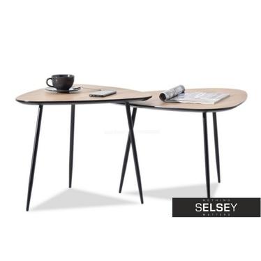 Rosin Coffee Table Set Modern Sonoma Oak