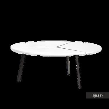 Fjord White Round Coffee Table