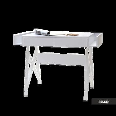 Boras White Scandinavian Desk