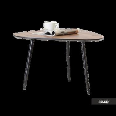 Rosin Walnut Coffee Table 68x65 cm