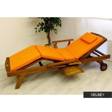Letty Orange Outdoor Cushion