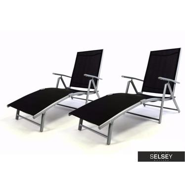Alonso 2 Piece Deckchair Set