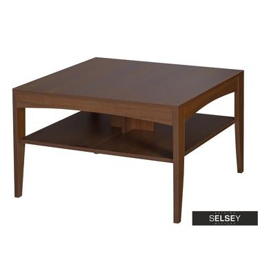 Masur Coffee Table with Shelf 80x80 cm