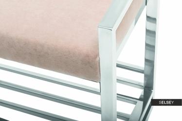 Futura Bench with Shelf