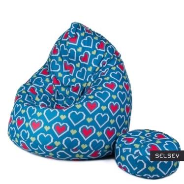 Sako 4 XL Bean Bag with Footstool