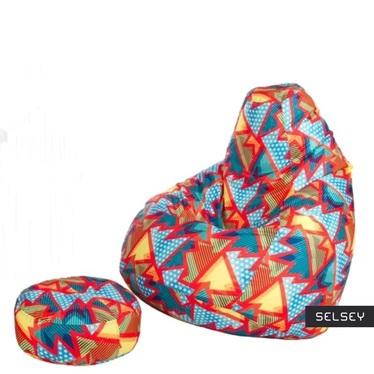 Comfort XXL Bean Bag with Footstool