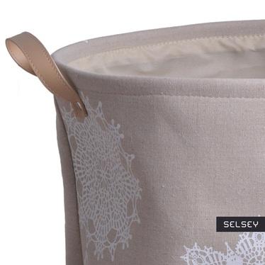 Snow Flake Laundry Basket