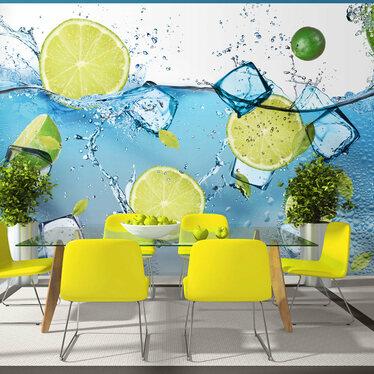 Lemonade Mural Wallpaper