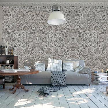 Oriental Ornament Mural Wallpaper