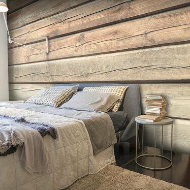Pine Planks Mural Wallpaper