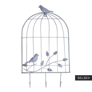 Cage Grey Decorative Hooks
