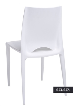 Bee White Plastic Chair