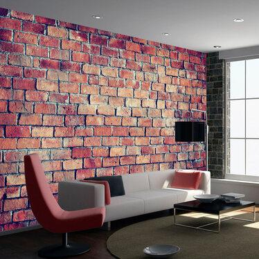 Brick Wall Mural Wallpaper 300x210 cm