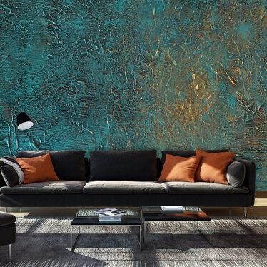 Azure Mirror Mural Wallpaper 300x210 cm
