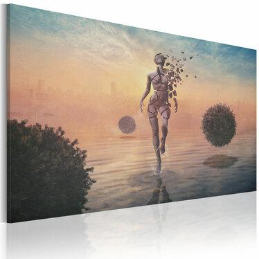 Deconstruction Canvas Print 60x40 cm