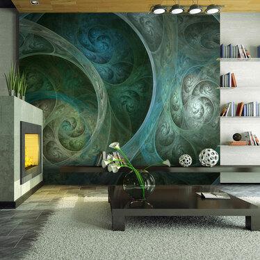 Silk Mural Wallpaper