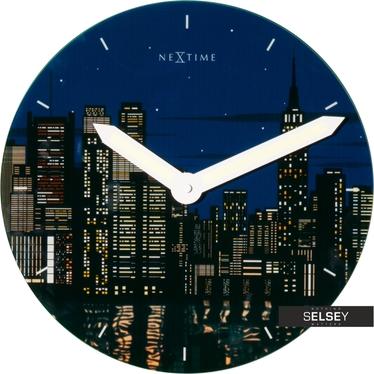 New York Round Wall Clock
