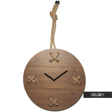 Stitch Wooden Wall Clock