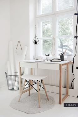 Scandinavia Desk with 2 Drawers