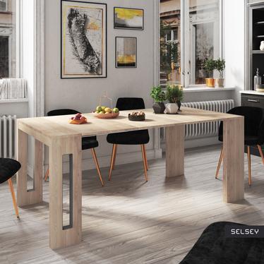 Romansia Italian Extendable Table Oak
