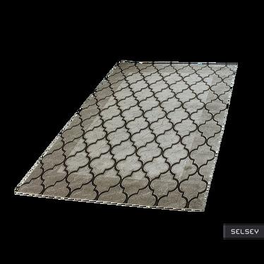 Morocco Clover Mix Brown Carpet