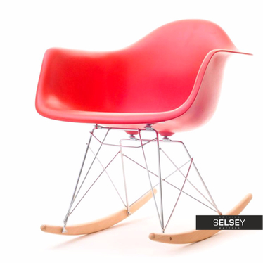 Roxy Red Rocking Armchair
