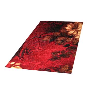 Stamp Flower Scarlet Carpet