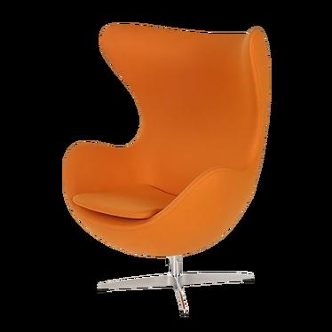 Cocoon Designer Armchair Orange