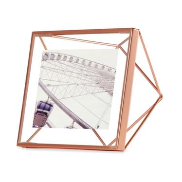 Prism Copper Picture Frame 10x10 cm