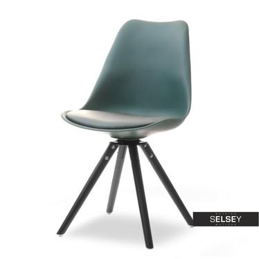 Luis Green Swivel Chair