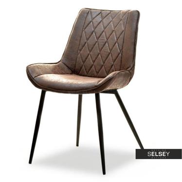 Adele Brown Vintage Chair