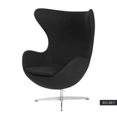 Cocoon Designer Armchair Black