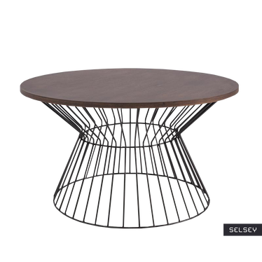 Heike Industrial Coffee Table 82 cm