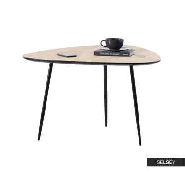 Rosin Modern Sonoma Oak Coffee Table 68x65 cm