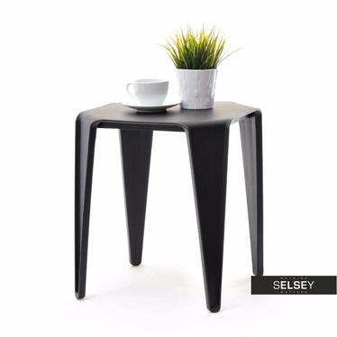 Bay Black Plastic Coffee Table