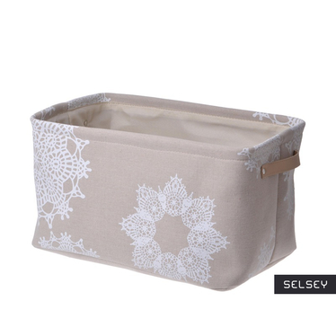 Snow Flake Basket