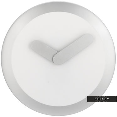 Focus White Minimalist Wall Clock