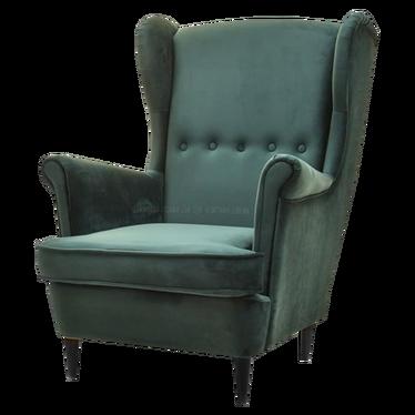 Malmo Moss Green Armchair