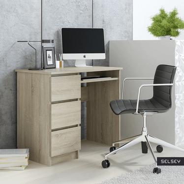 Ravanello Desk with 3 Drawers