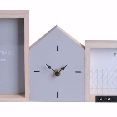 Skyline Picture Frame Clock