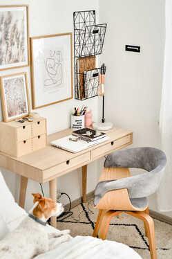 Kastav Desk with 2 Drawers