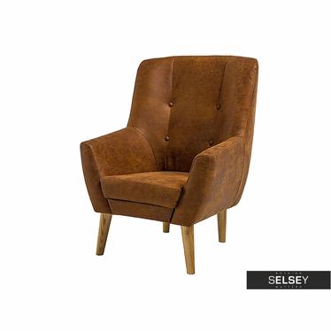 Cello Brown Armchair
