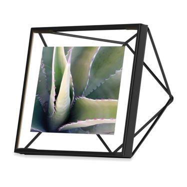 Prism Black Picture Frame 10x10 cm